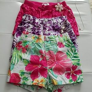 3 12 - 18 months baby girl shorts